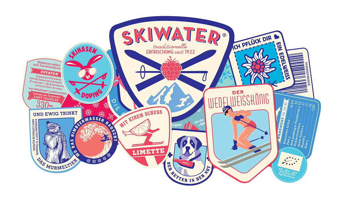 Skiwater Label